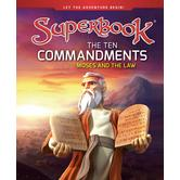 The Ten Commandments: Moses and the Law, Superbook Series, by CBN, Hardcover