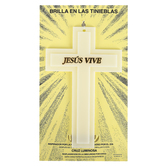 Dicksons, Jesus Vive Glow In The Dark Spanish Wall Cross, Plastic, 4 1/2 x 7 1/4 inches