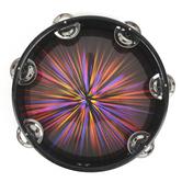 Swanson, Starburst Symbol Tambourine, 8 inches