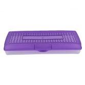 Storex, Stretch Pencil Case, Plastic, 5 1/2 x 13 1/2 x 2 1/2 inches