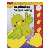 Evan-Moor, Learning Line Activity Book: Beginning Sequencing, 32 Pages, Grades Preschool-K