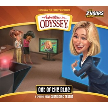 Adventures In Odyssey, Out of the Blue, Episode 68, by Focus On The Family, CD