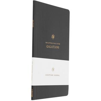 ESV Scripture Journal: Galatians, Paperback, Black