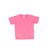 Gildan, Short Sleeve T-Shirt, Safety Pink, Youth Medium, 1 Piece