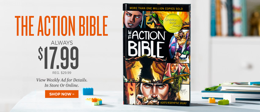 The Action Bible Always $17.99 - Reg. $29.99