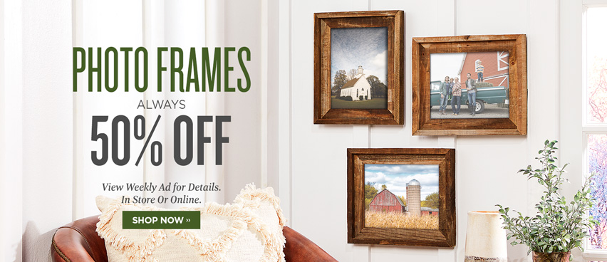 Photo Frames Always 50% OFF